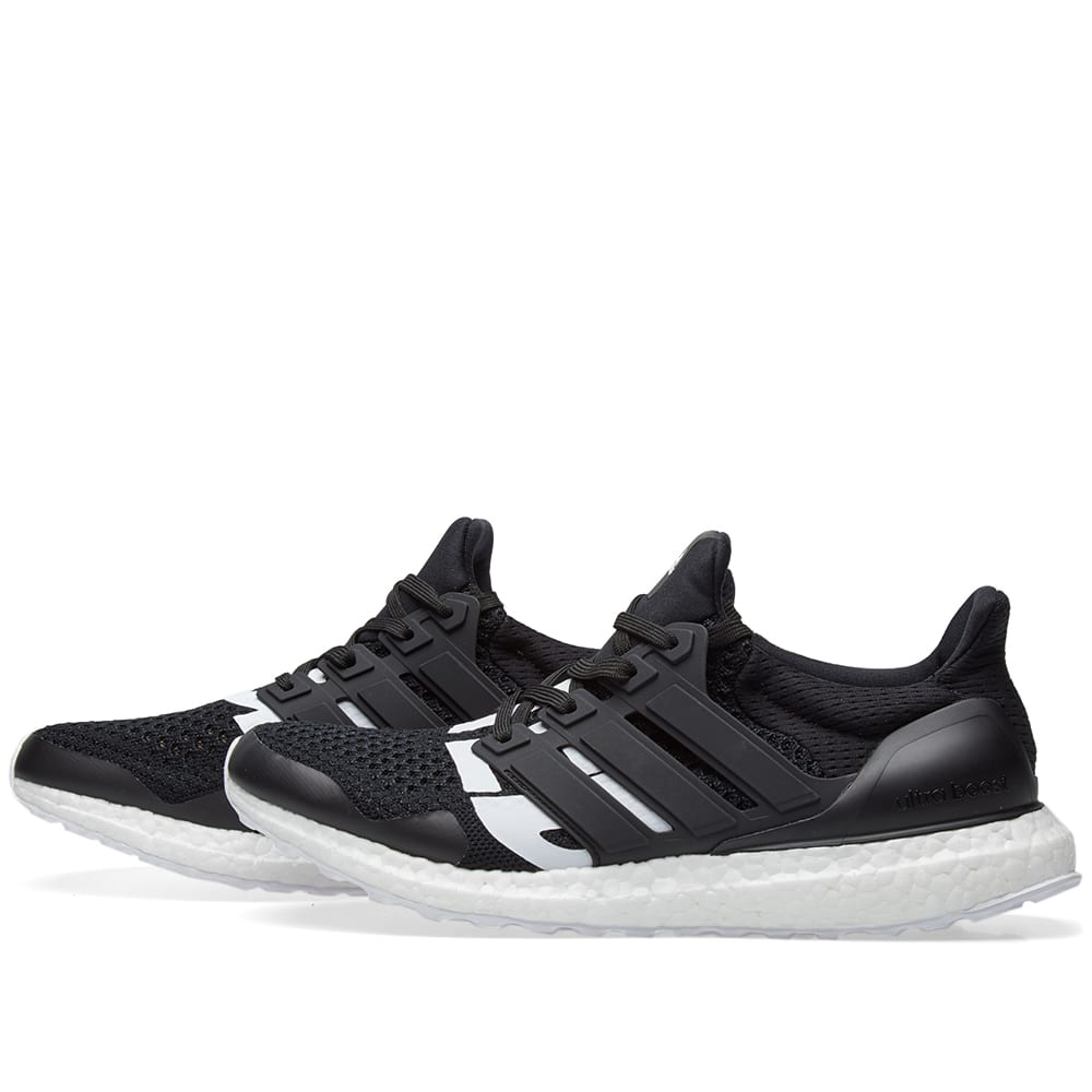8bbf052fe Adidas x Undefeated Ultra Boost Core Black   White