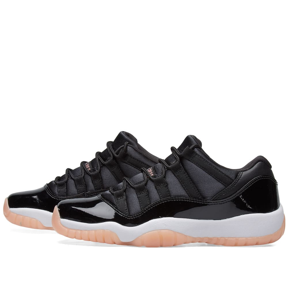f165650c55adb8 Nike Air Jordan 11 Retro Low BG Black