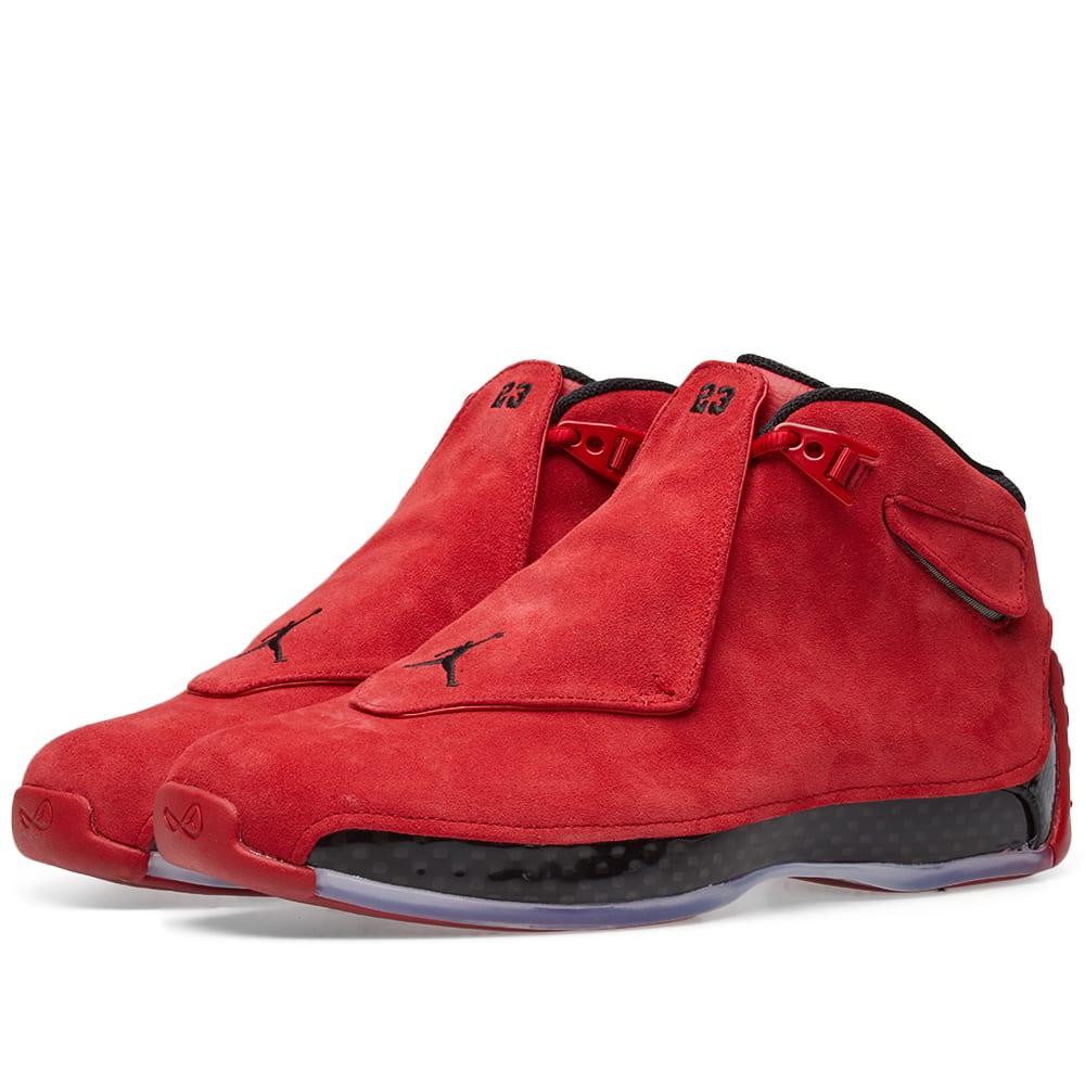 buy online 624da 98520 Nike Air Jordan 18 Retro Gym Red   Black   END.