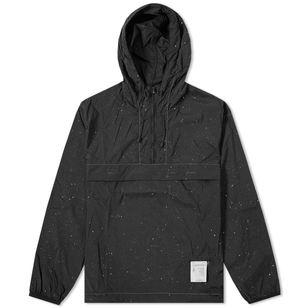 Satisfy Popover Running Jacket Black