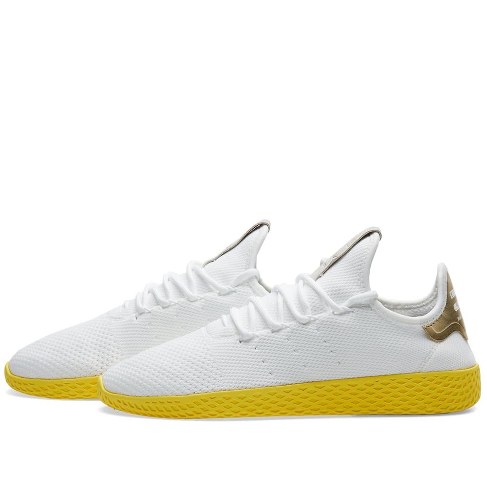 2ba30829d6f6d Adidas x Pharrell Williams Tennis HU White   Yellow