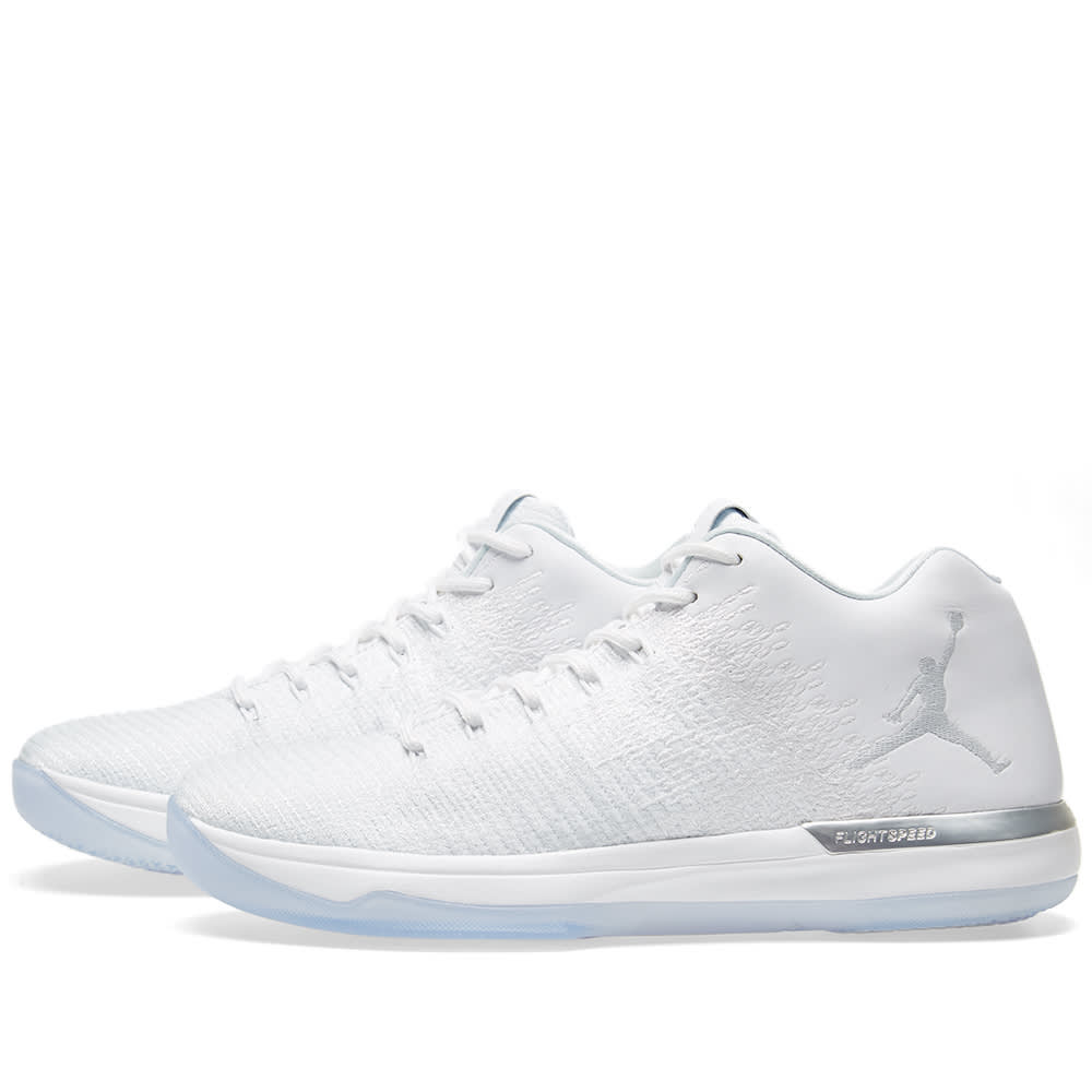 b55a68da27fe1a Air Jordan 31 Low  Pure Money  White