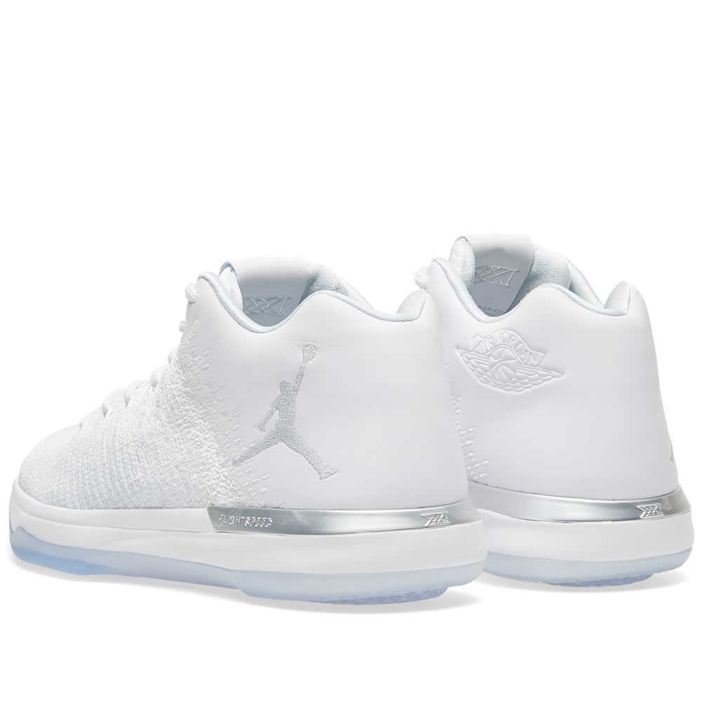 sneakers for cheap 8243a 930a8 Air Jordan 31 Low  Pure Money  White, Pure Platinum   Silver   END.