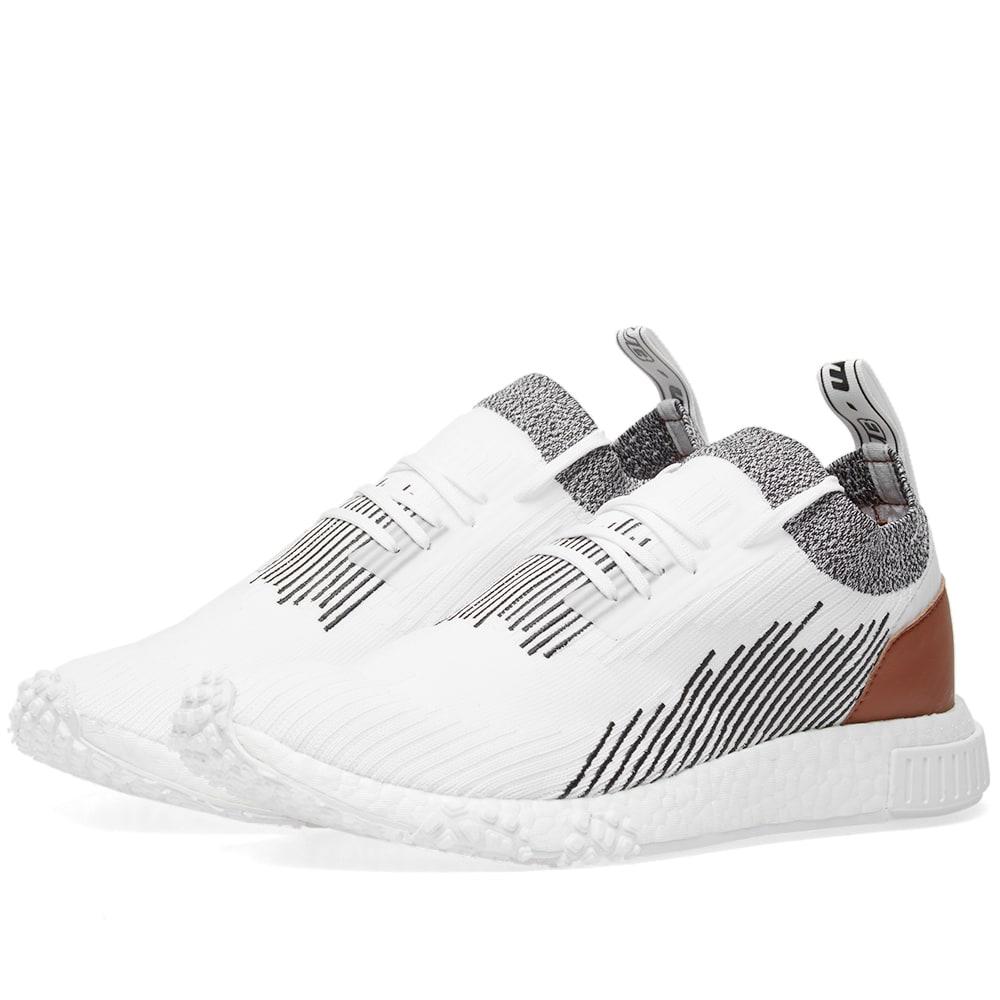 Adidas NMD Racer Leather White \u0026 Core