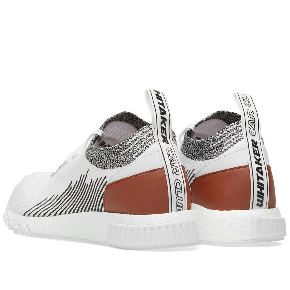 36345964a Adidas NMD Racer Leather White   Core Black