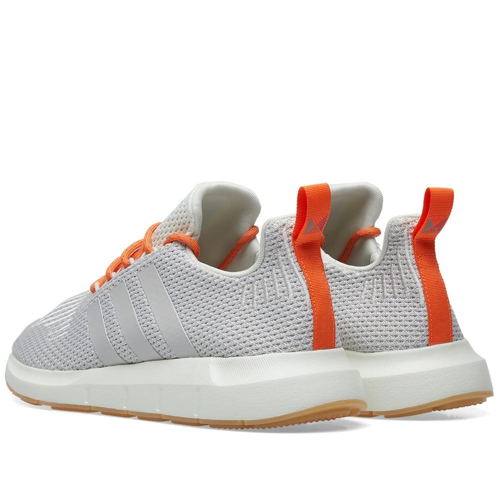 3bfa58775d995 Adidas Swift Run Summer White   Grey One