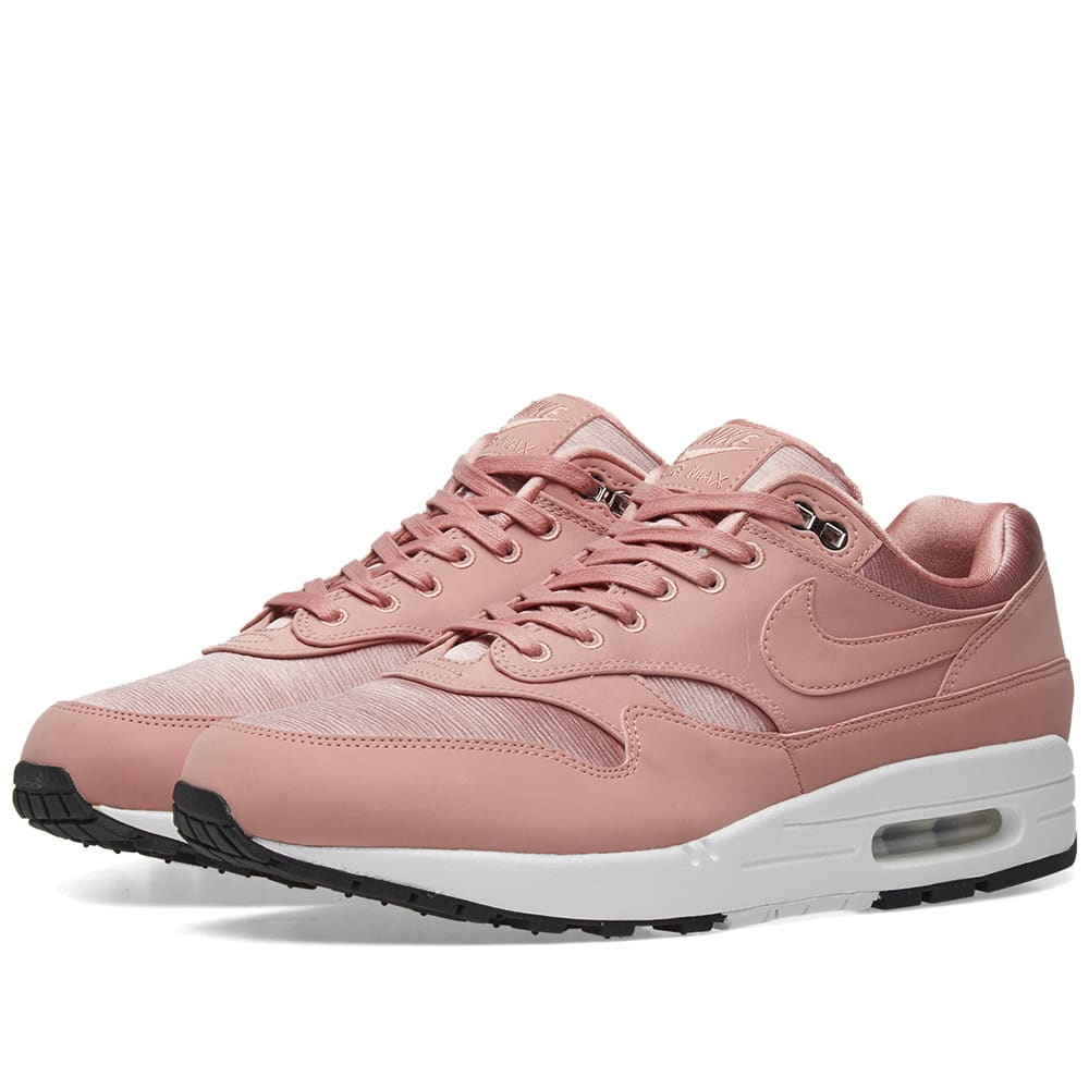 the best attitude f2d07 ca6de Nike Air Max 1 SE W Rust Pink   White   END.