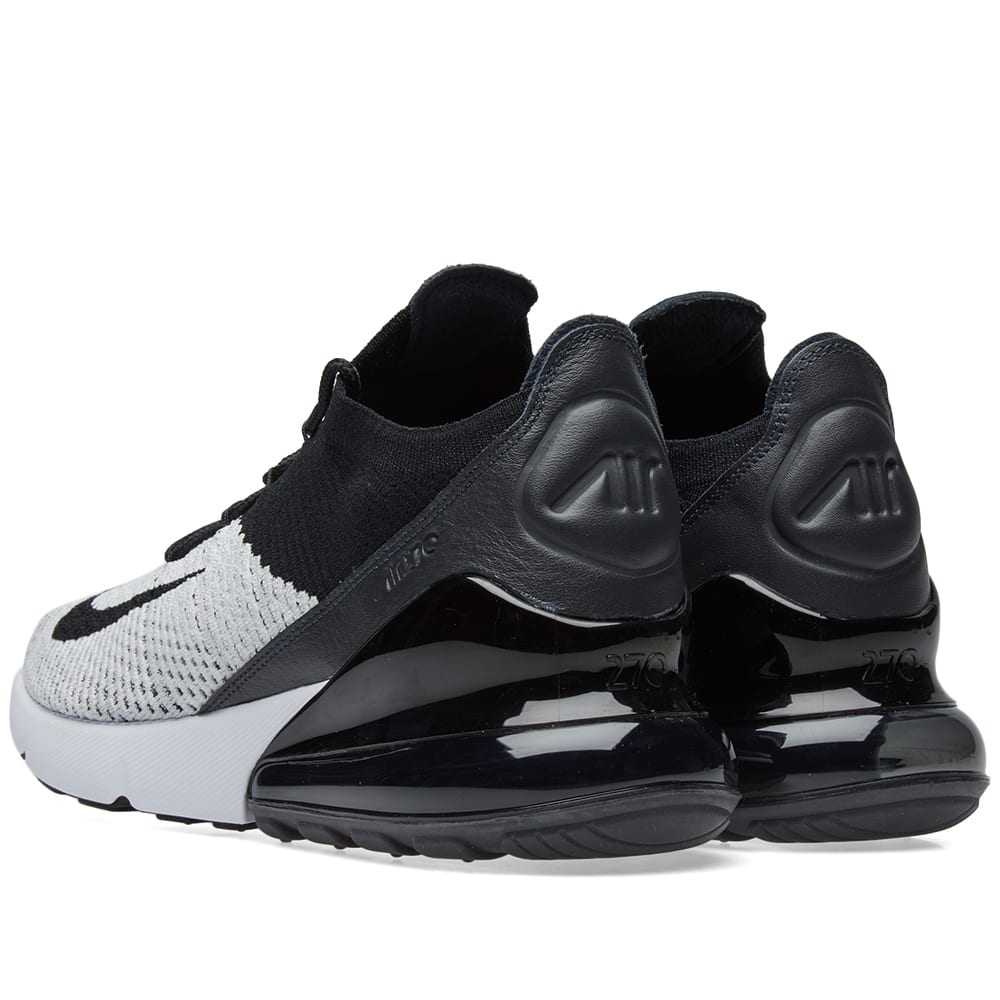 meet f26db 21028 Nike Air Max 270 Flyknit White, Black   Anthracite   END.
