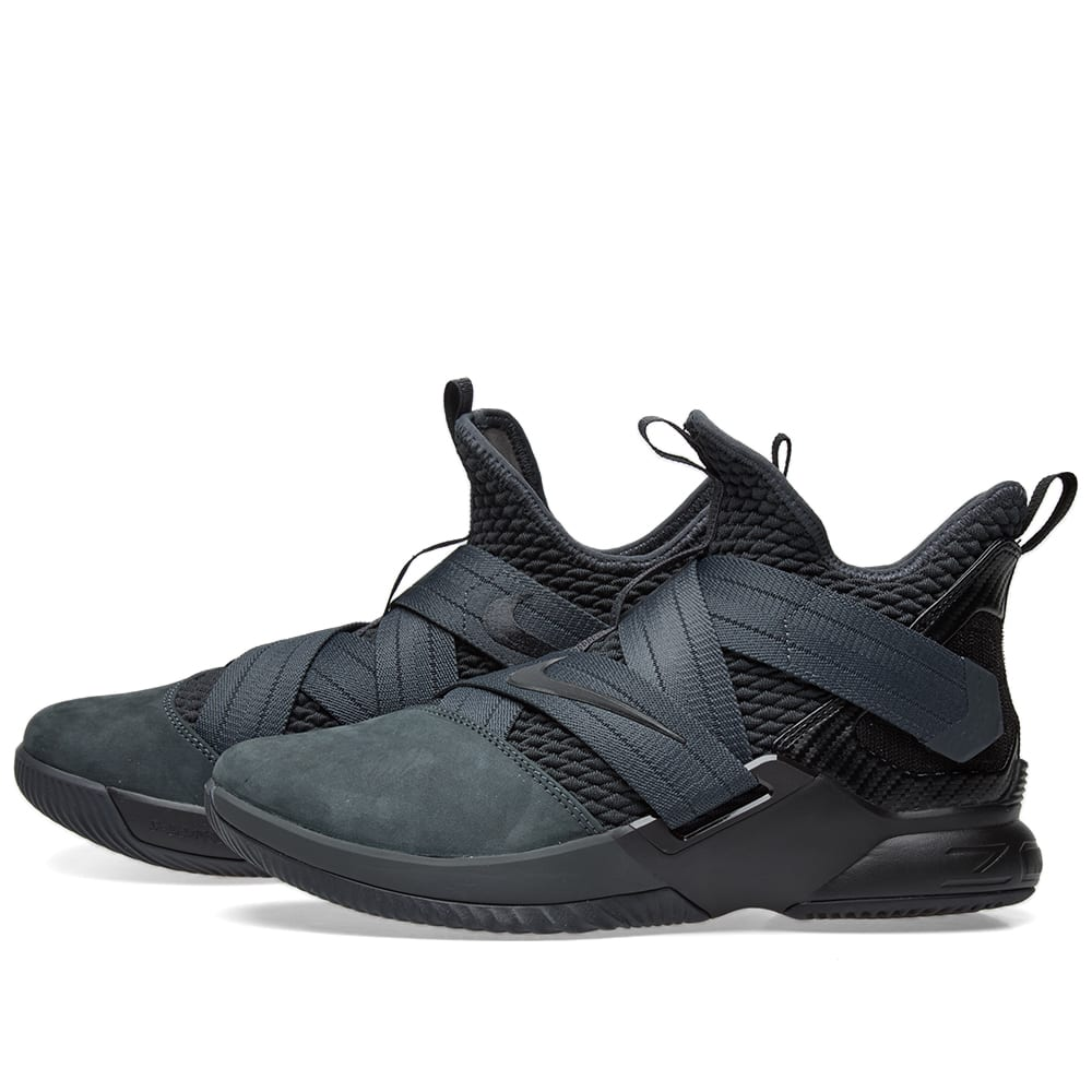 huge selection of b1581 0e5ae Nike Lebron Soldier XII SFG Anthracite & Black | END.