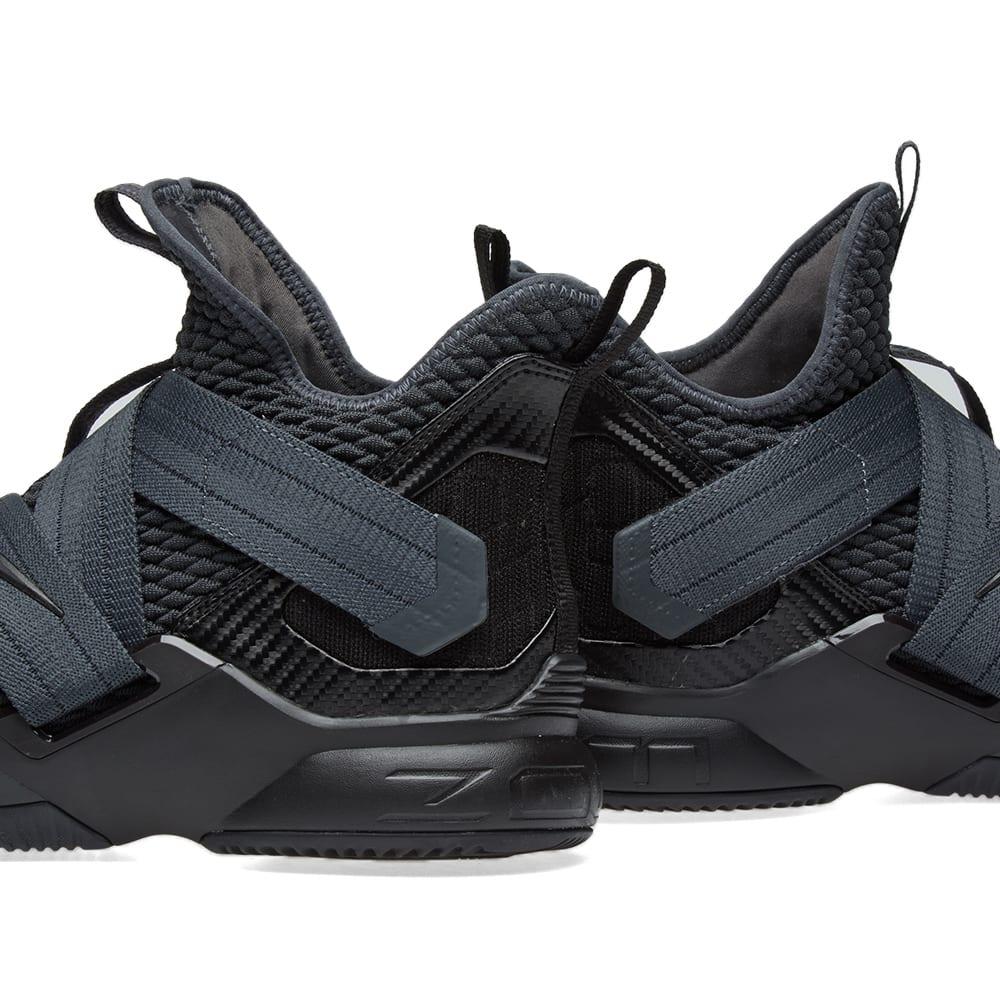 63ef7c7ec74 Nike Lebron Soldier XII SFG Anthracite   Black