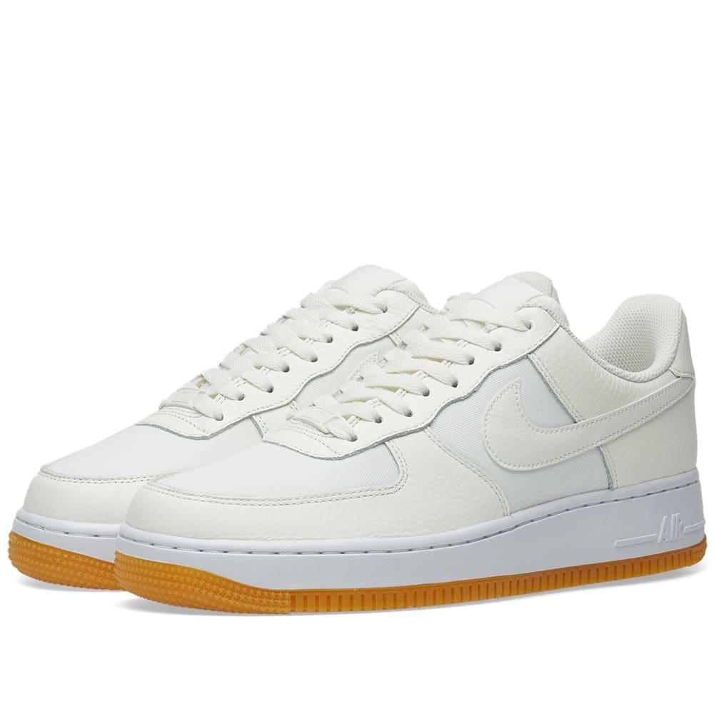 sports shoes c03b2 809d1 Nike Air Force 1  07 Premium W Sail, Gum   Light Brown   END.