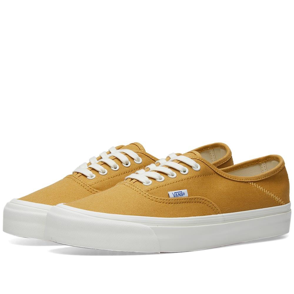 0d3e28415b Vans Vault OG Style 43 LX Honey Mustard   Marshmallow
