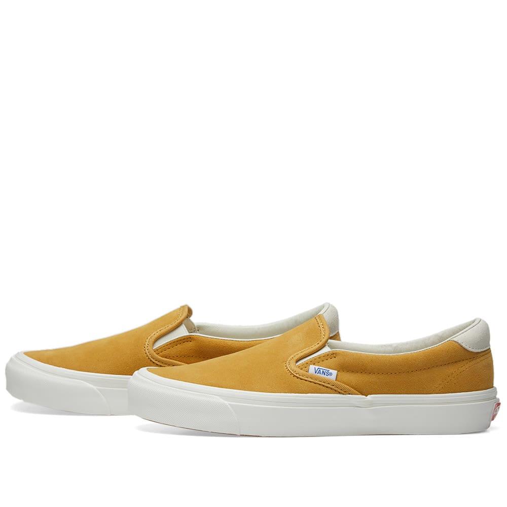 62af0e9b79 Vans Vault OG Slip On 59 LX Honey Mustard   Marshmallow