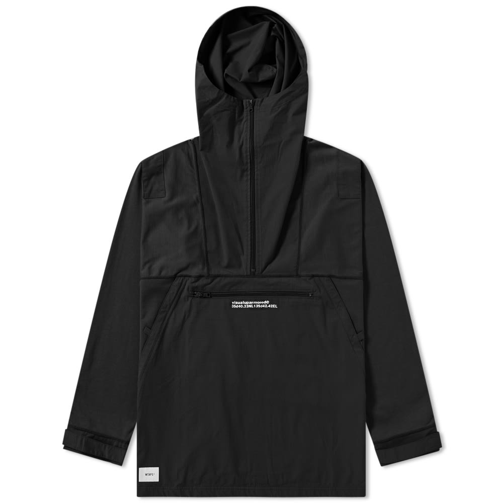 WTAPS Wtaps Drag-On Hooded Jacket in Black