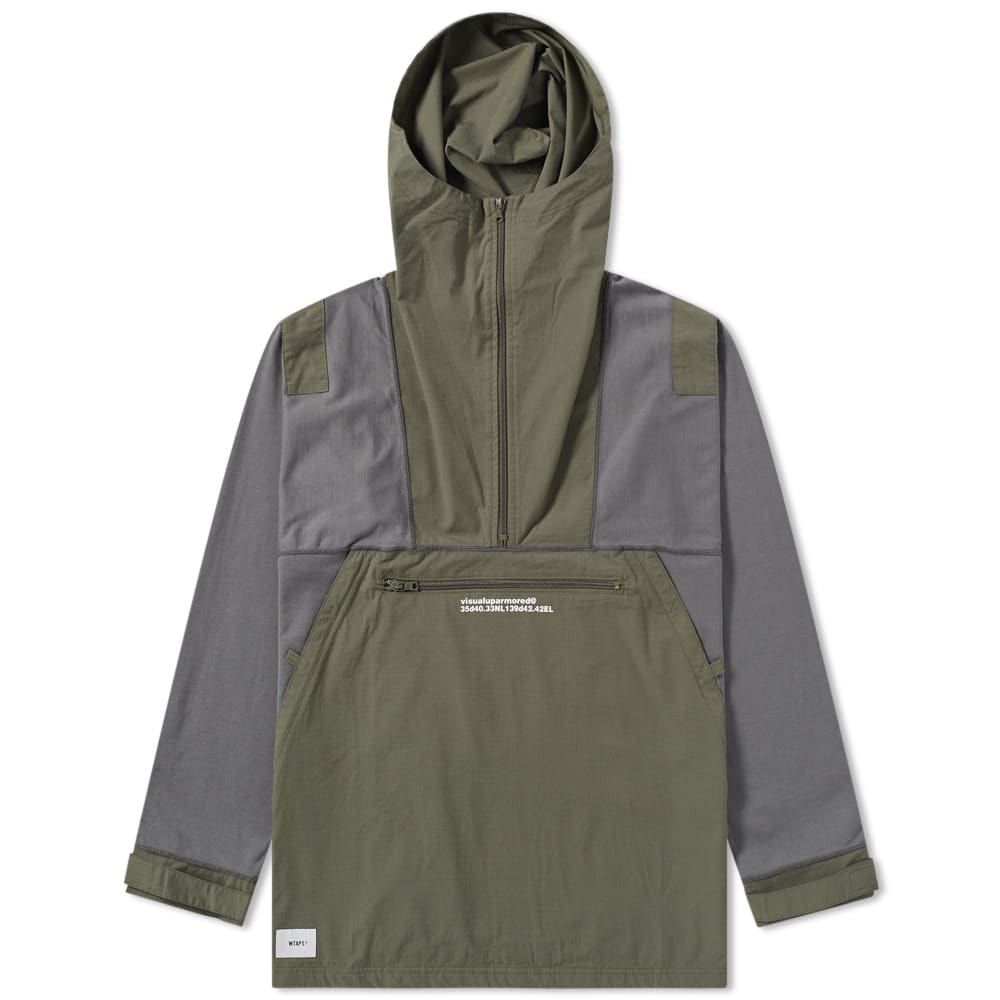 WTAPS Wtaps Drag-On Hooded Jacket in Green