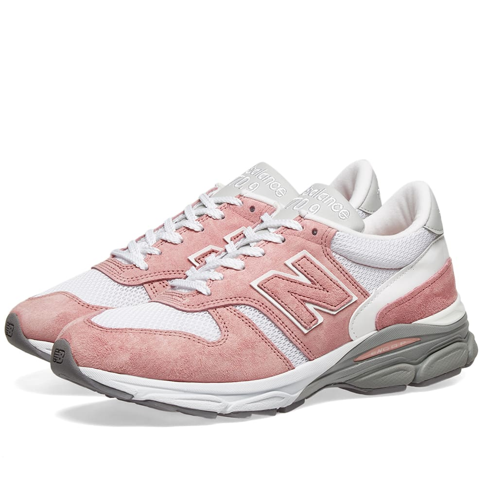 NEW BALANCE | Women'S New Balance 7709DB - Made In England Pink & Hite | Goxip