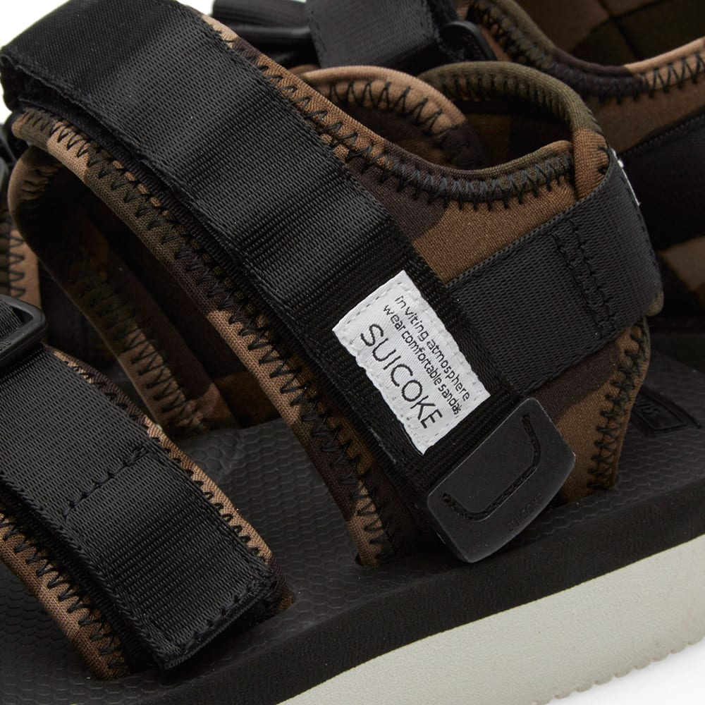 c42b957ac411 END. x Suicoke KISEE-V Sandal  Disruptive Pattern Material  Black    Camouflage