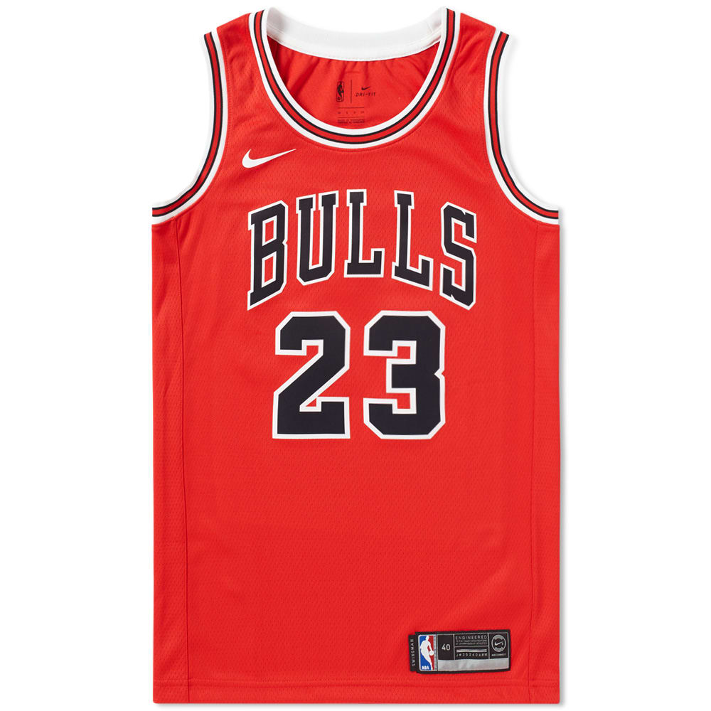 cca8e270938e Nike Michael Jordan Chicago Bulls Swingman Jersey University Red