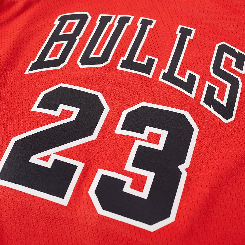 sports shoes 436fd 80a66 Nike Michael Jordan Chicago Bulls Swingman Jersey University Red   END.