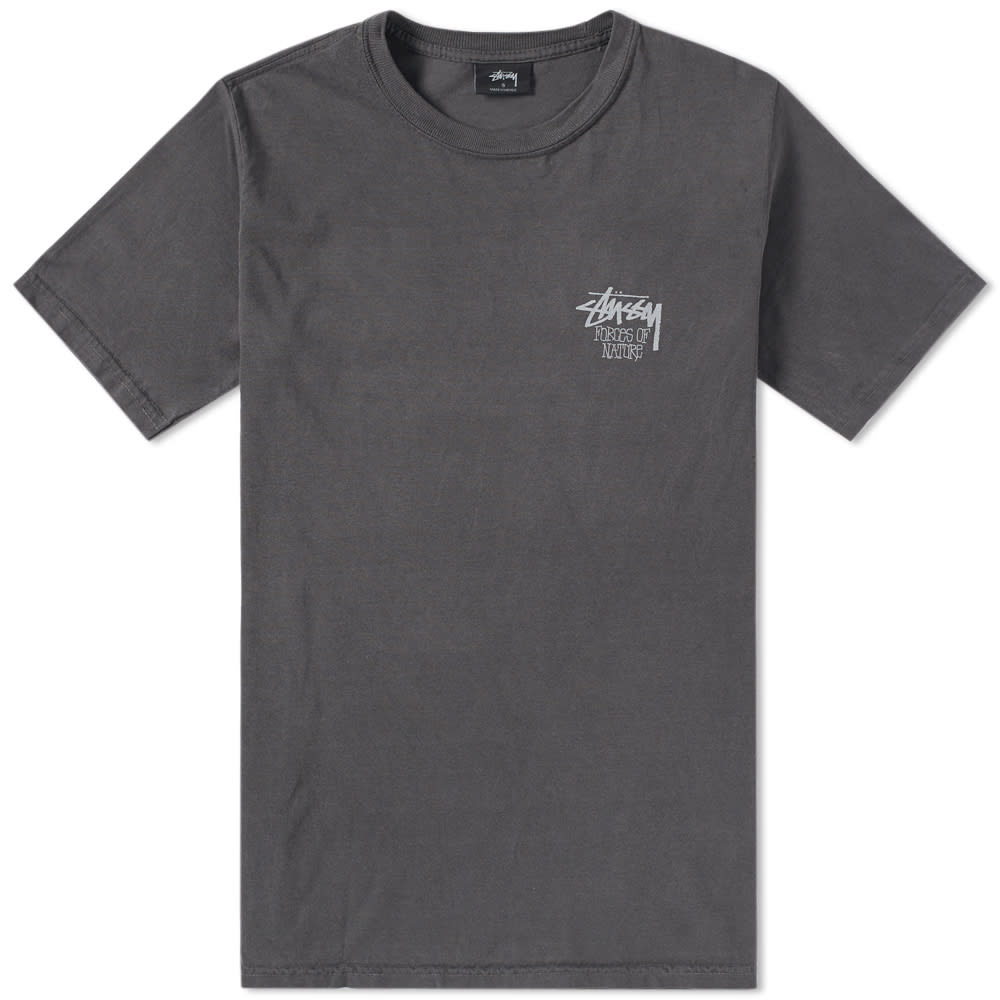 STUSSY FORCES OF NATURE PIGMENT DYED TEE