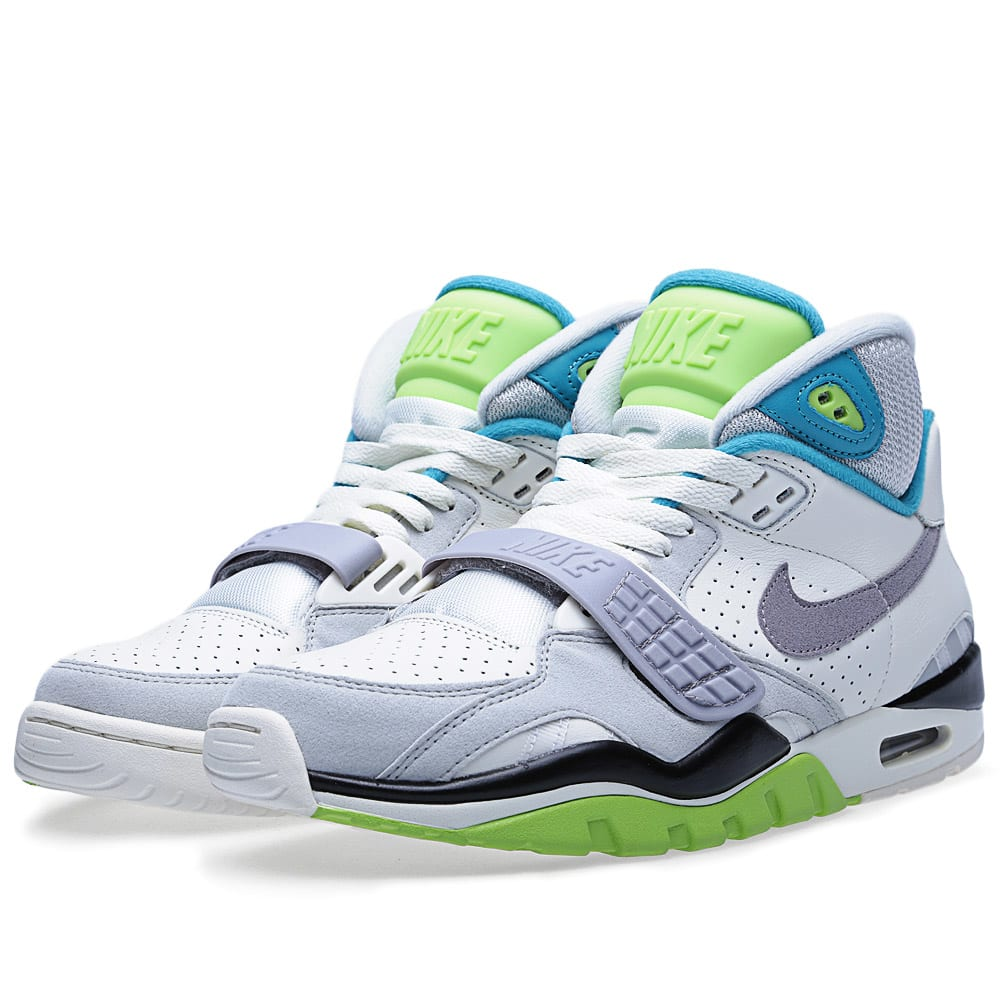 nike air trainer sc ii og qs sail cement grey aquamarine. Black Bedroom Furniture Sets. Home Design Ideas