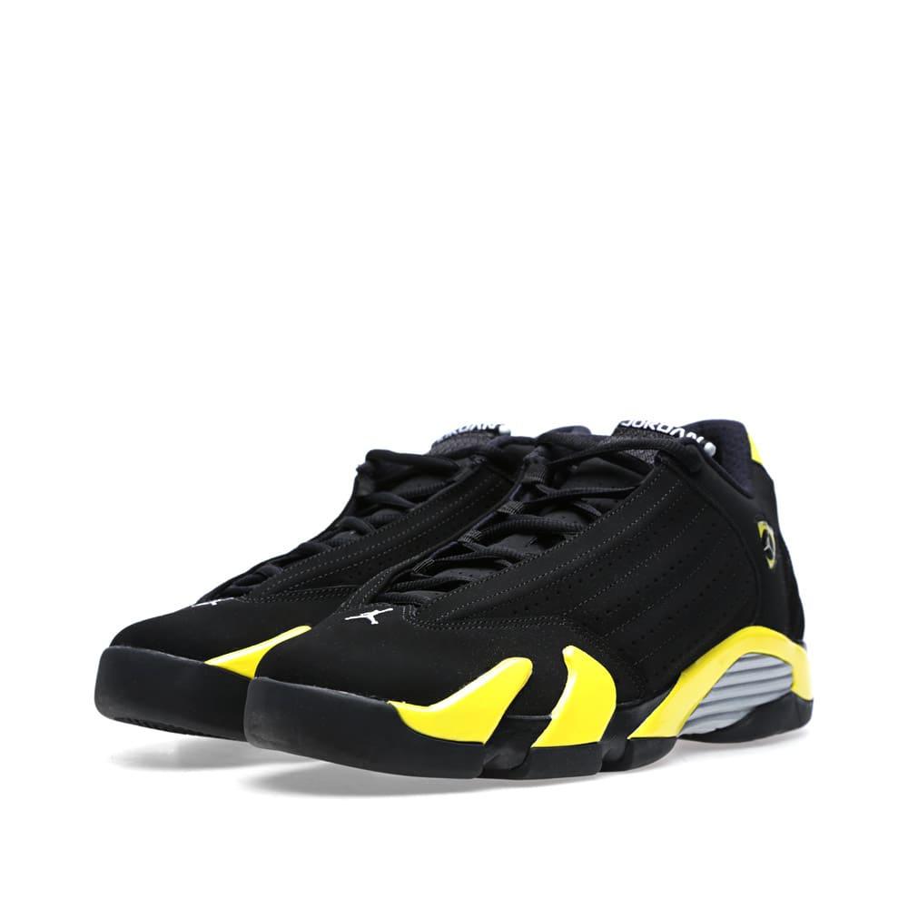 new style 2d76b ffdf7 Nike Air Jordan XIV Retro BG 'Thunder'
