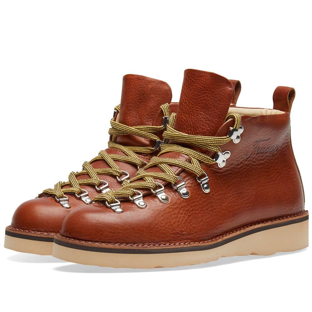 FRACAP Fracap M120 Natural Vibram Sole Scarponcino Boot in Brown