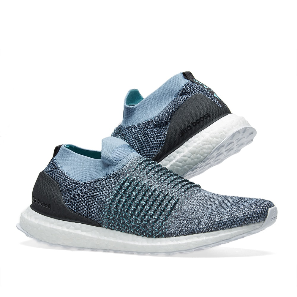 bea3b5b2ec0 Adidas Ultra Boost Laceless Parley. Raw Grey ...