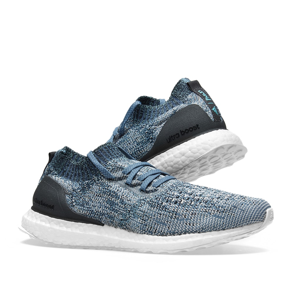 Adidas Ultra Boost Uncaged Parley Raw Grey Chalk Pearl