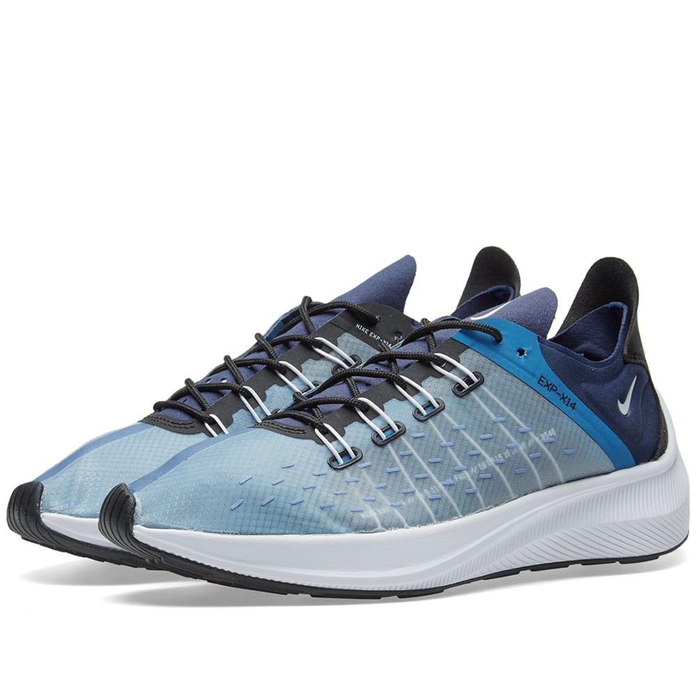 purchase cheap d566e b88a9 Nike EXP-X14 Navy, White, Blue   Black   END.