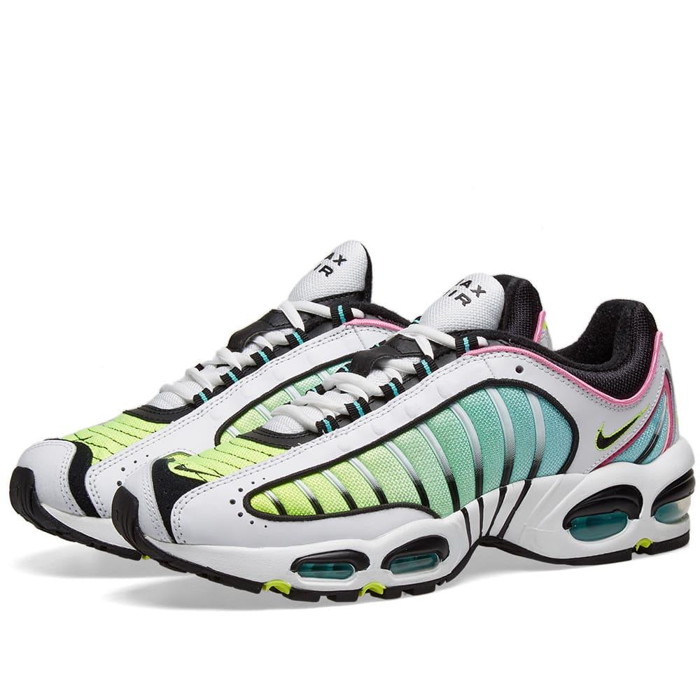 f3baeffd0 Nike Air Max Tailwind 4 White, Black, Rose & Aurora   END.