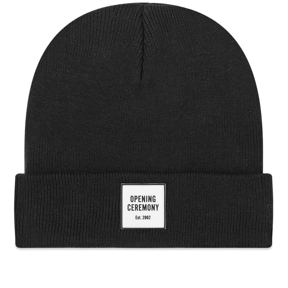 Opening Ceremony Logo Knit Beanie Black End
