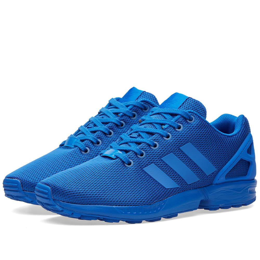 72c6ef576 Adidas ZX Flux Blue   Bold Blue