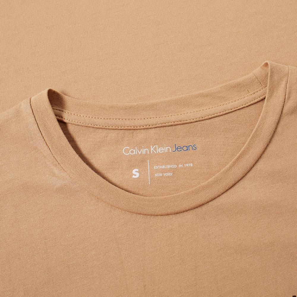 e4833505b1a79 Calvin Klein Jeans Treasure Tee Tannin