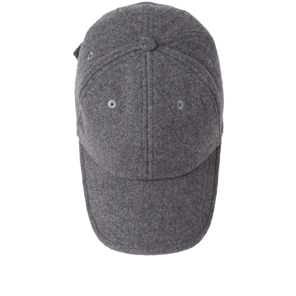 820bfb10150 Spalwart Team Sports Cap Dark Grey Melton Wool