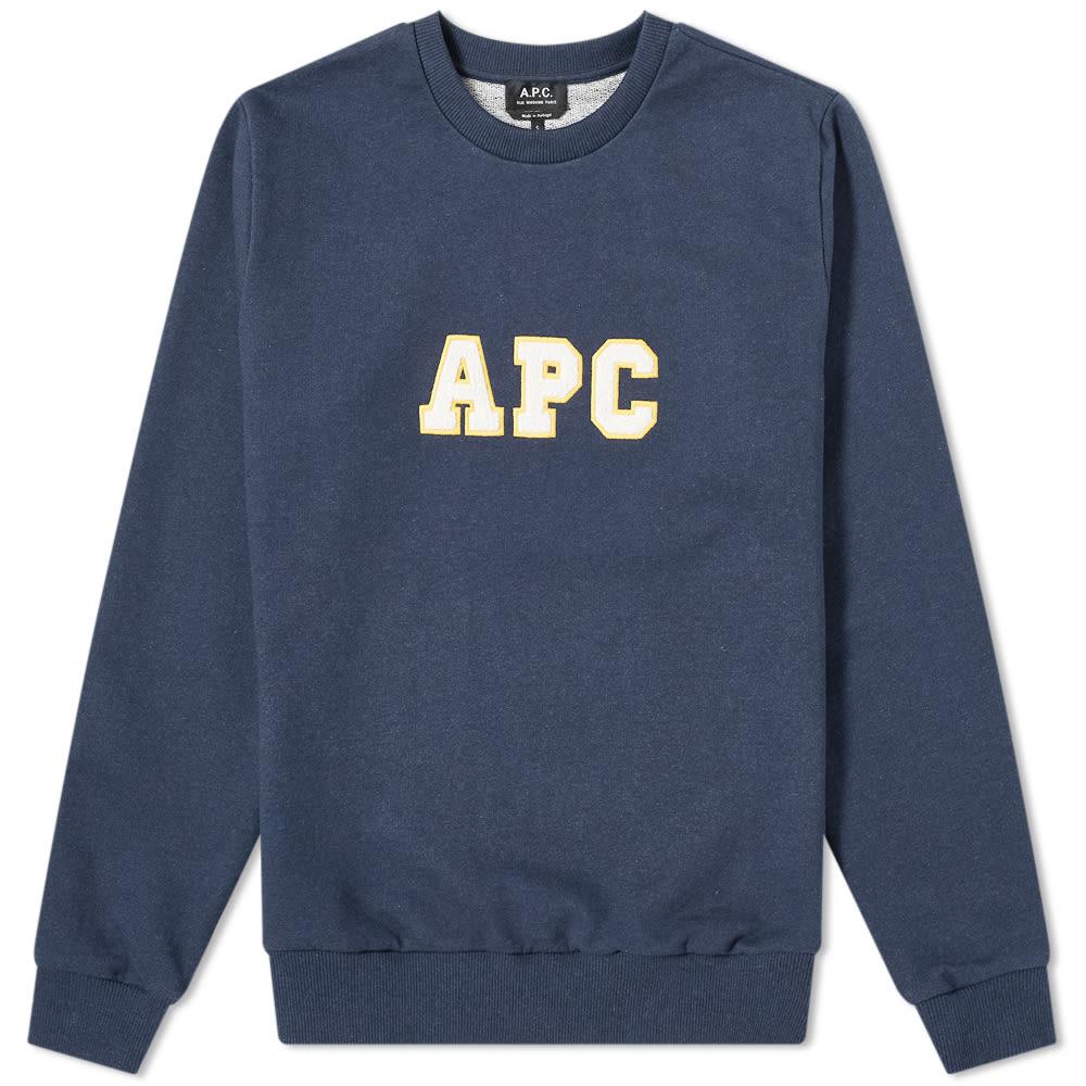A.p.c. A.P.C. Malcolm Varsity Logo Sweat