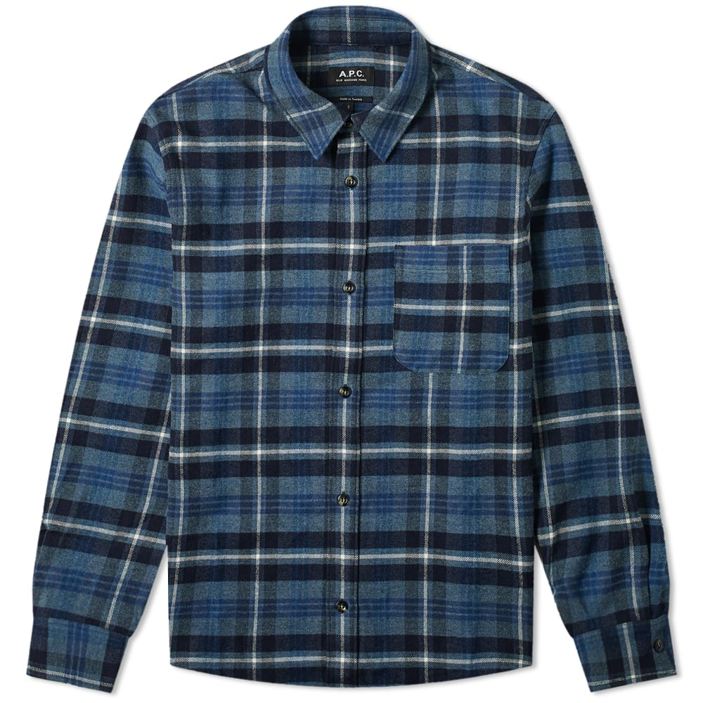 A.p.c. A.P.C. Trek Heavy Wool Overshirt