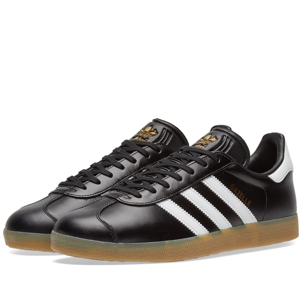 Adidas Gazelle Core Black \u0026 White | END.