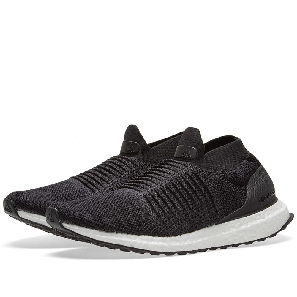 6f231660f Adidas Ultra Boost Laceless Core Black
