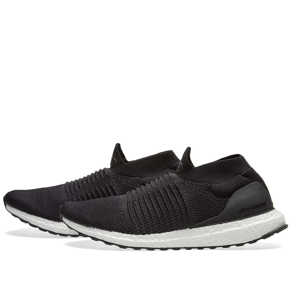 8f4503663481e Adidas Ultra Boost Laceless Core Black