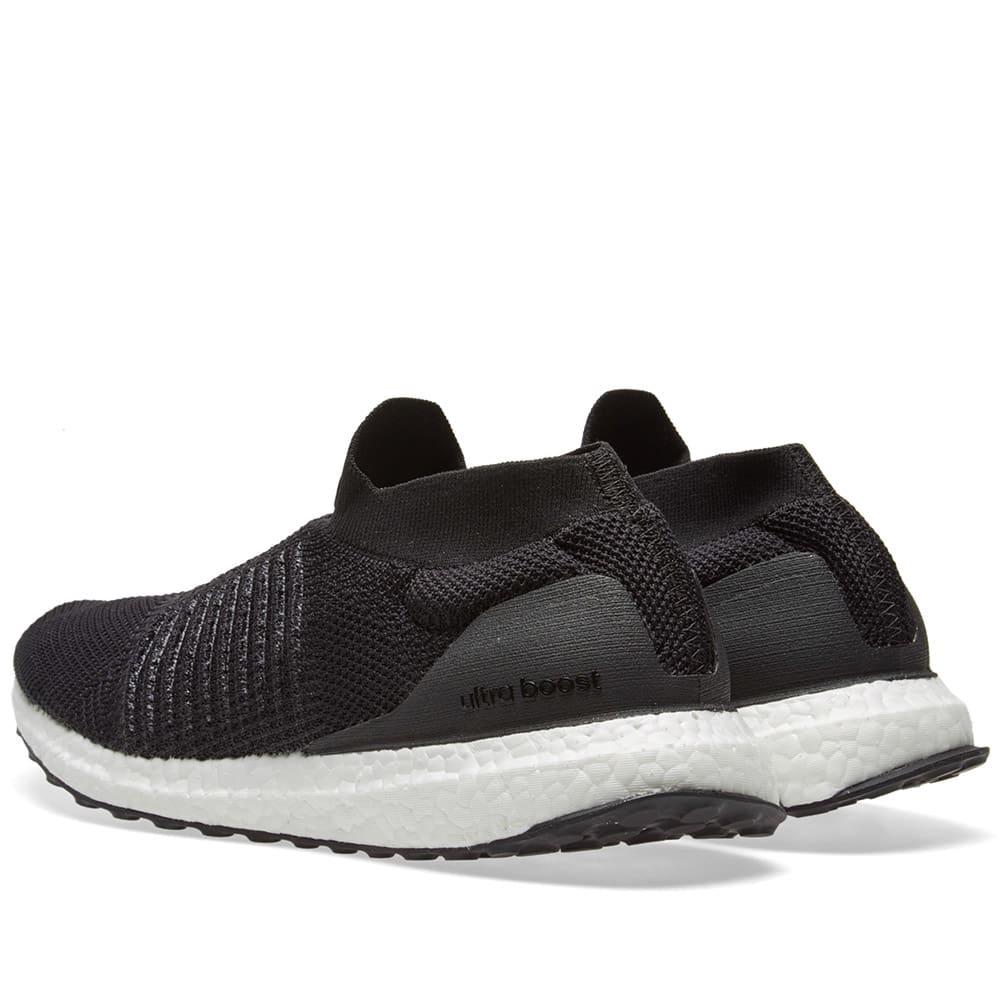 6e36a4b70 Adidas Ultra Boost Laceless Core Black