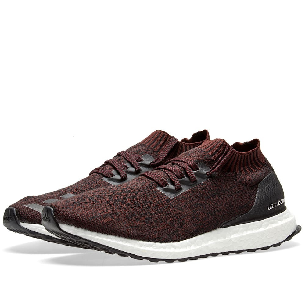 65d1aa49f69 Adidas Ultra Boost Uncaged Core Black   Dark Burgundy