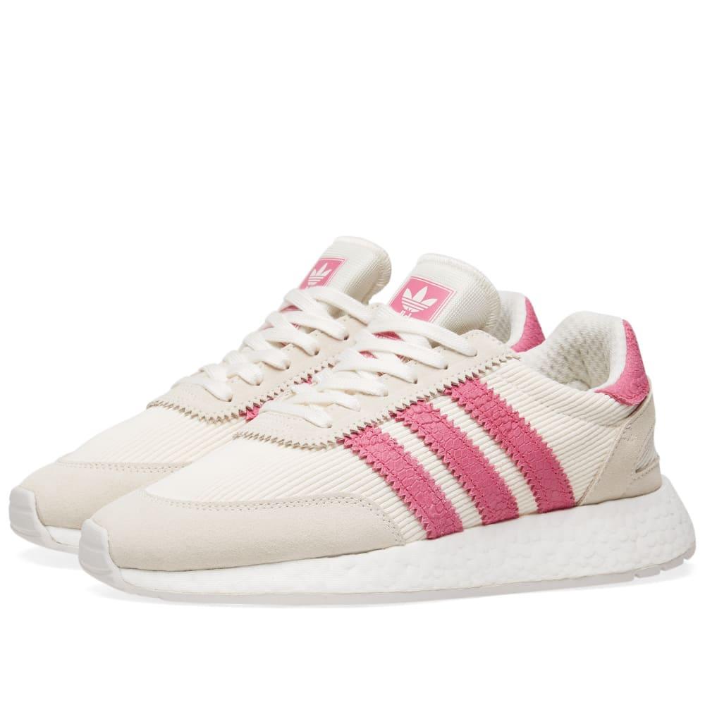 Adidas I-5923 W Off White, Shock Pink \u0026
