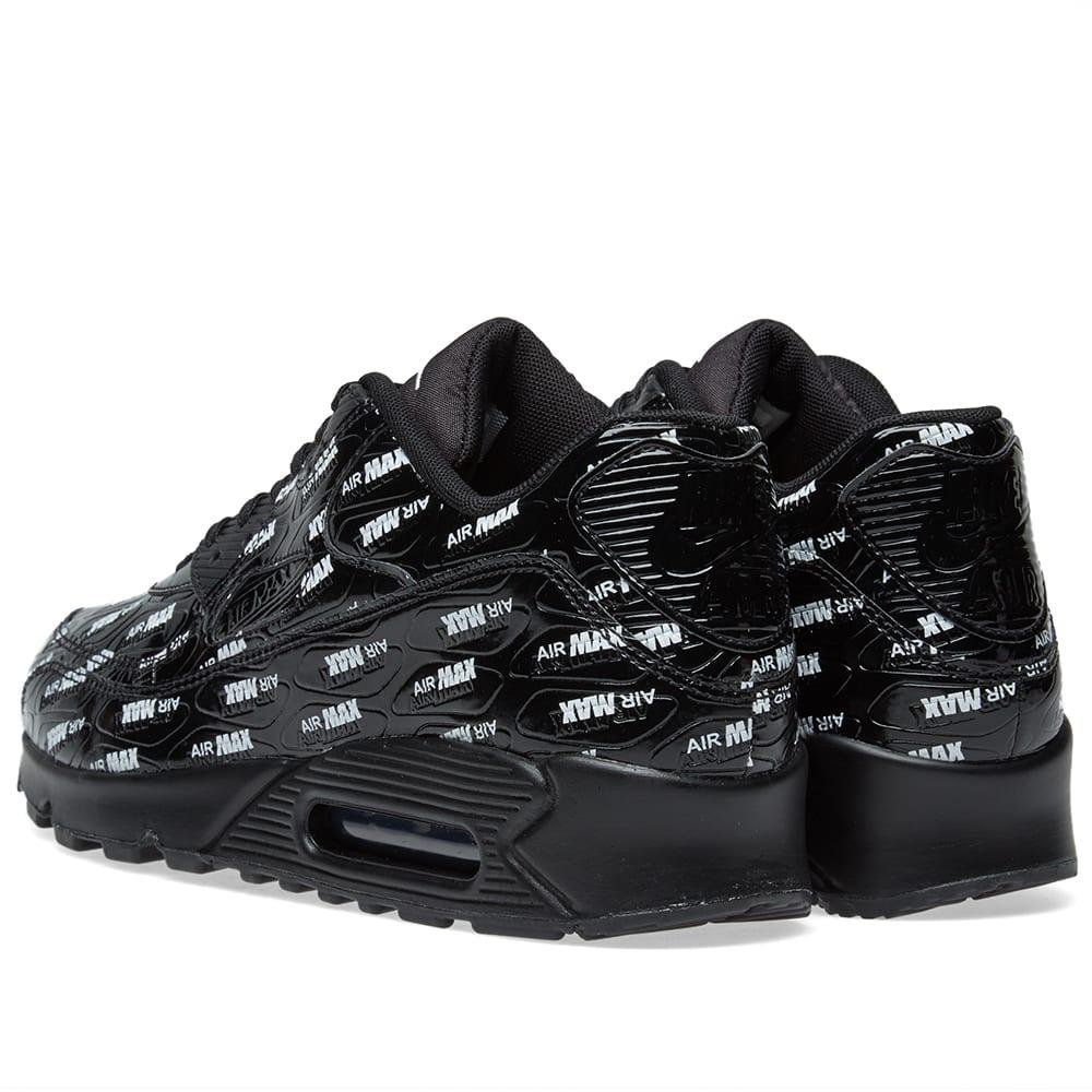 the latest 3cdda 8a1a0 Nike Air Max 90 Premium Black   White   END.