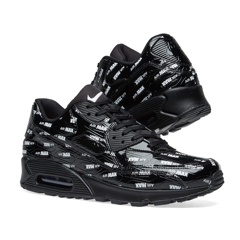 official photos 601f2 6d006 Nike Air Max 90 Premium. Black   White