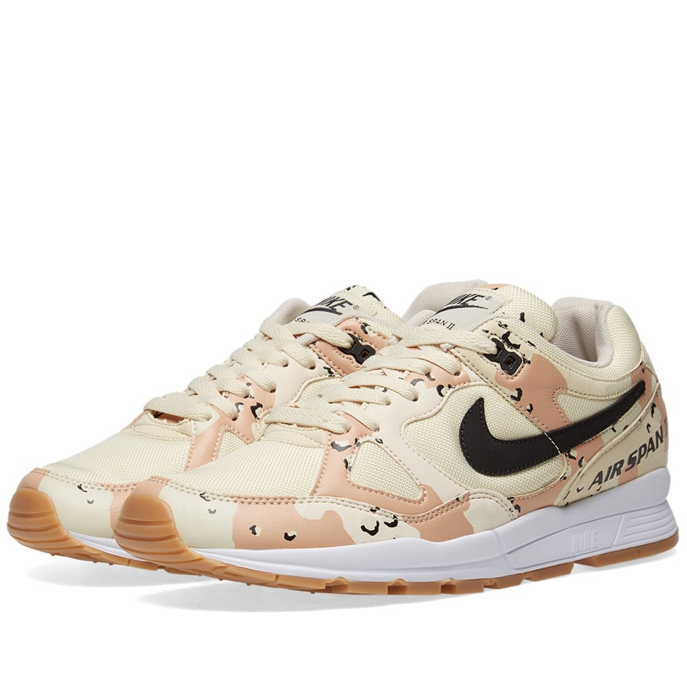 size 40 9129d 44ba4 Nike Air Span II Premium Beach, Black, Praline   Cream   END.