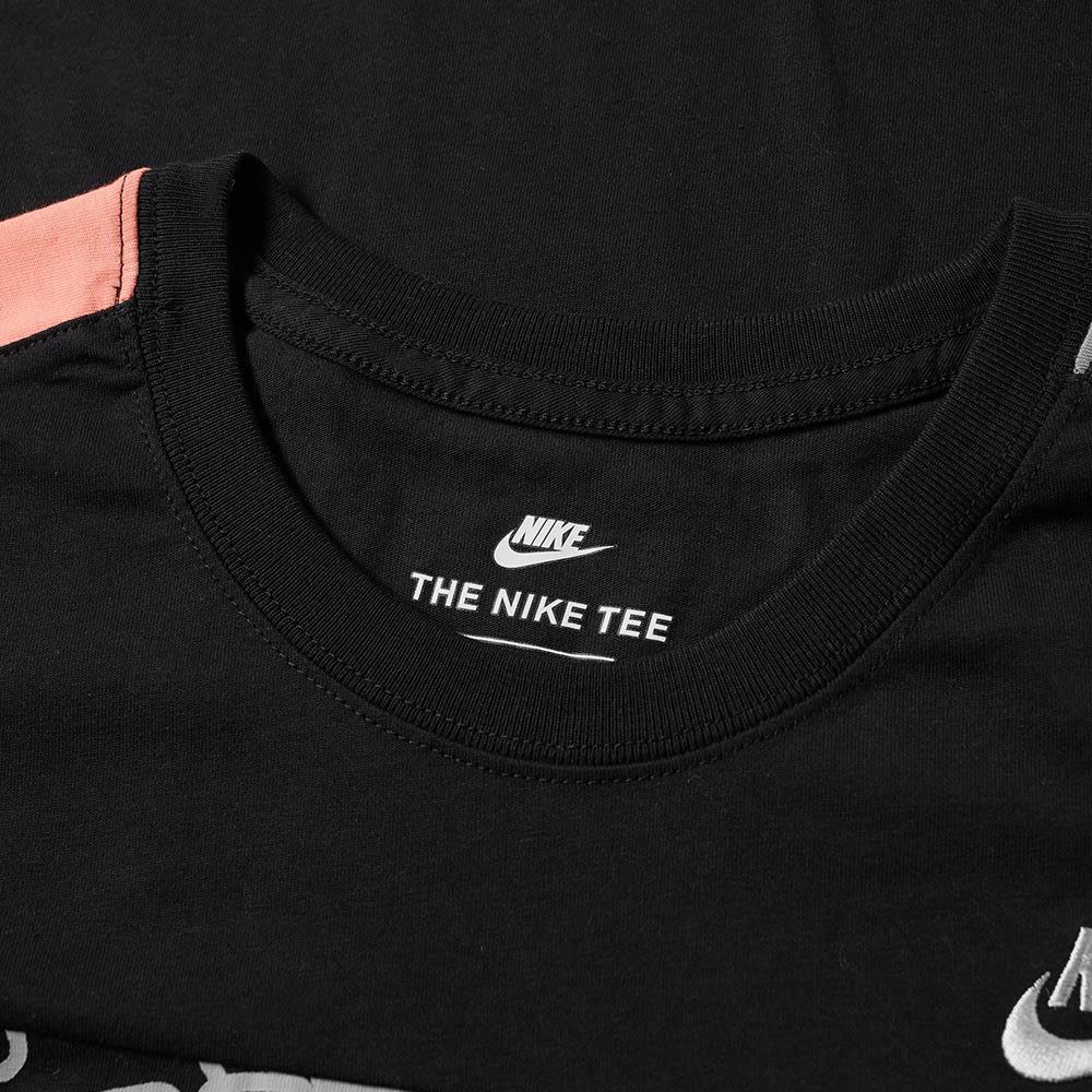 new style 64895 173f4 Nike  Just Do It  Retro Tee Black, Sunblush, Menta   White   END.