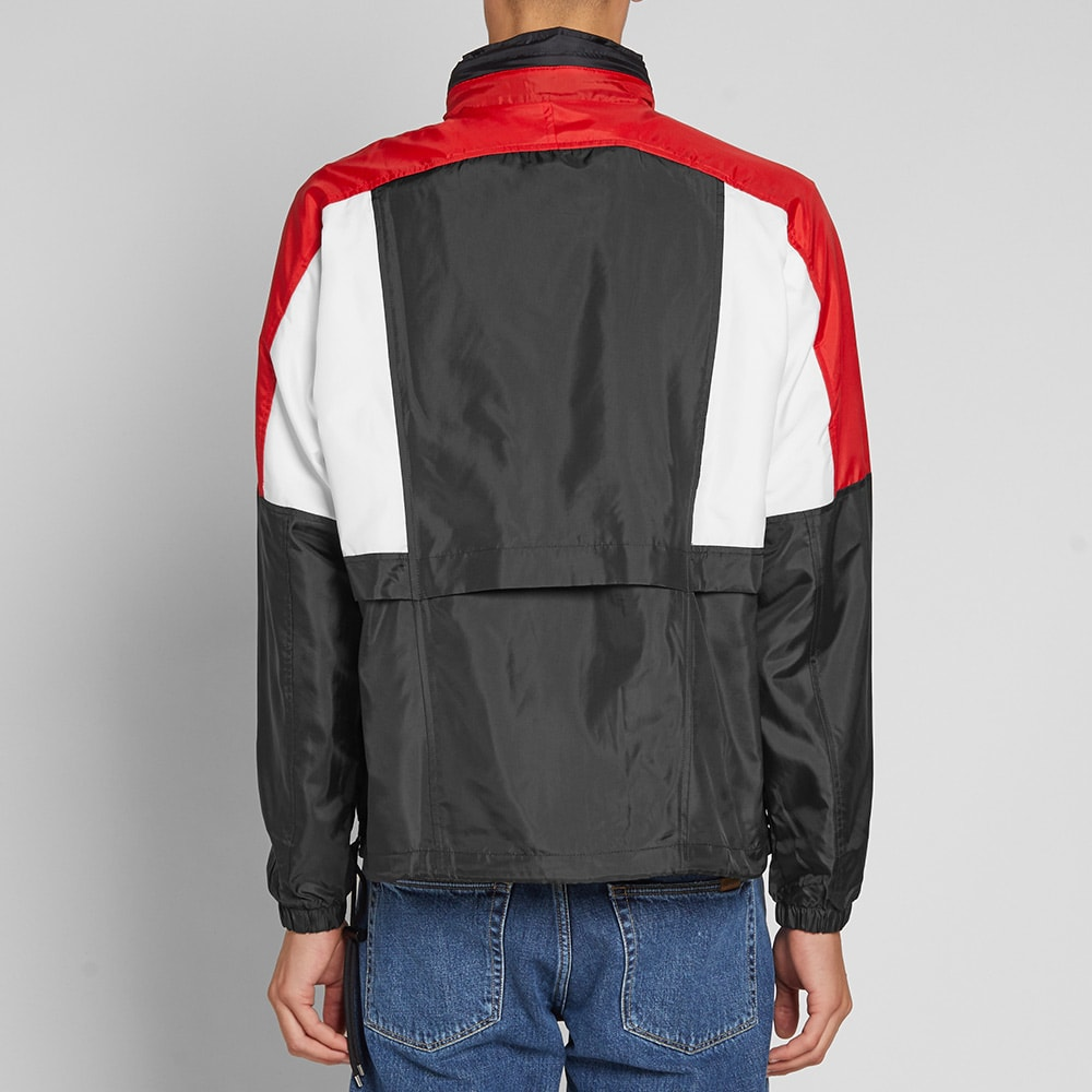 a62e6c35d Nike Re-Issue Woven Jacket Black, University Red & White   END.