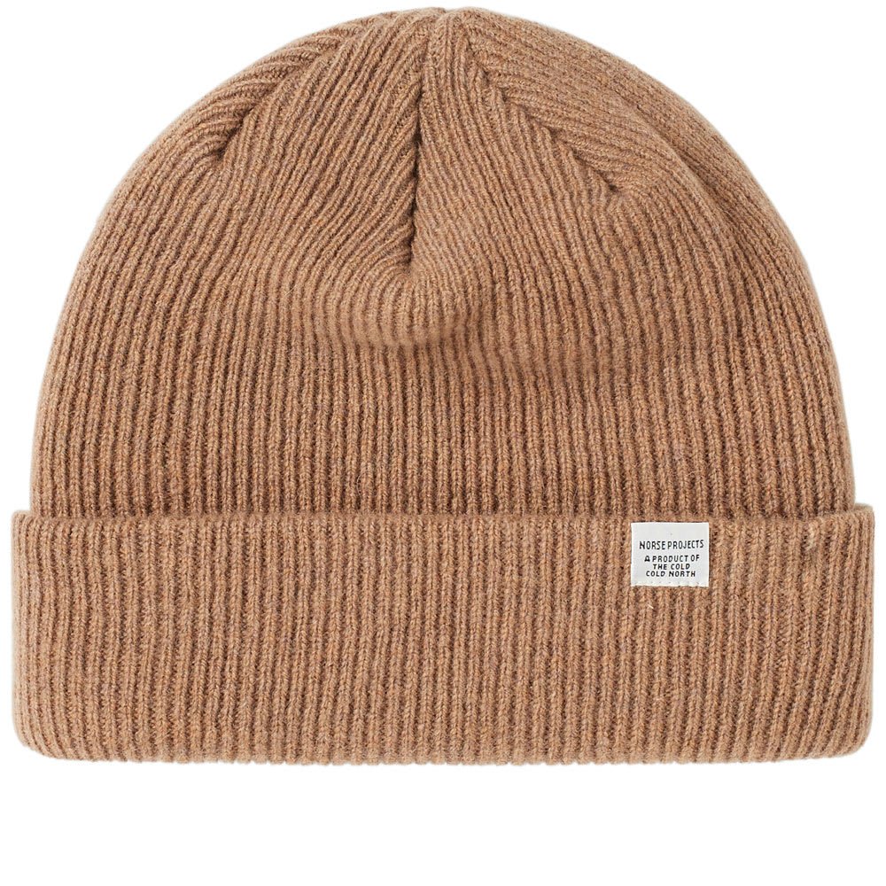 8eaca7c5b44d9 Norse Projects Beanie Camel
