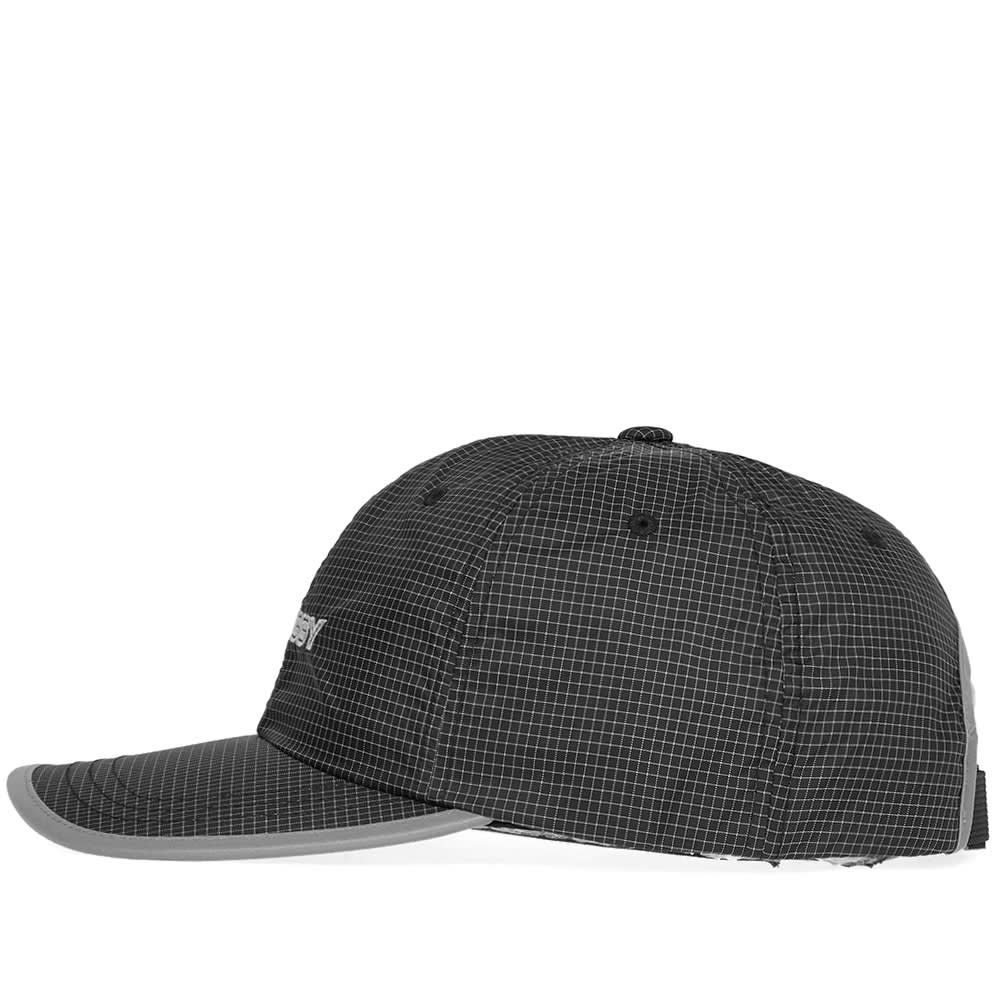 4260ed01ad6 Stussy Contrast Ripstop Low Pro Cap Black